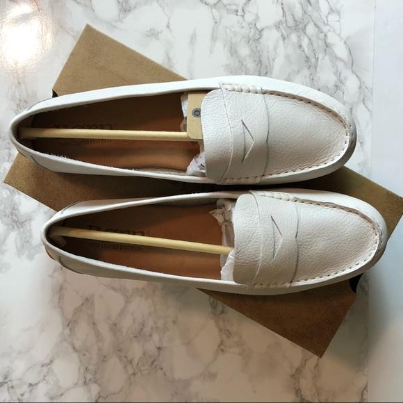 57de5ace372 Born Shoes - Born Malena White Loafer